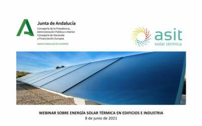PRESENTACIONES WEBINAR 8 junio 2021 SOBRE ENERGÍA SOLAR TÉRMICA EN EDIFICIOS E INDUSTRIA